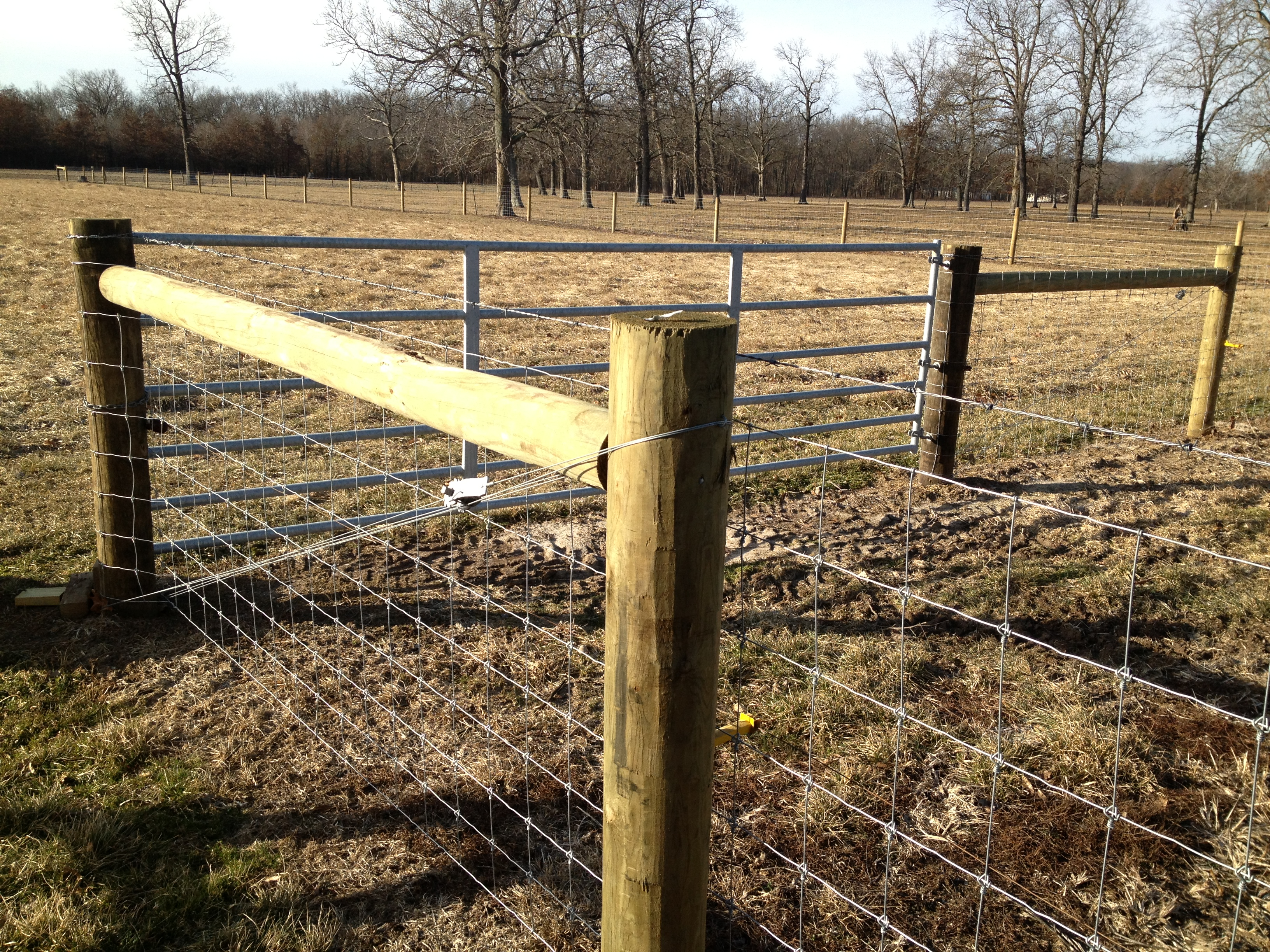 High Tensile Woven Wire - Kramer Fence Construction Inc.